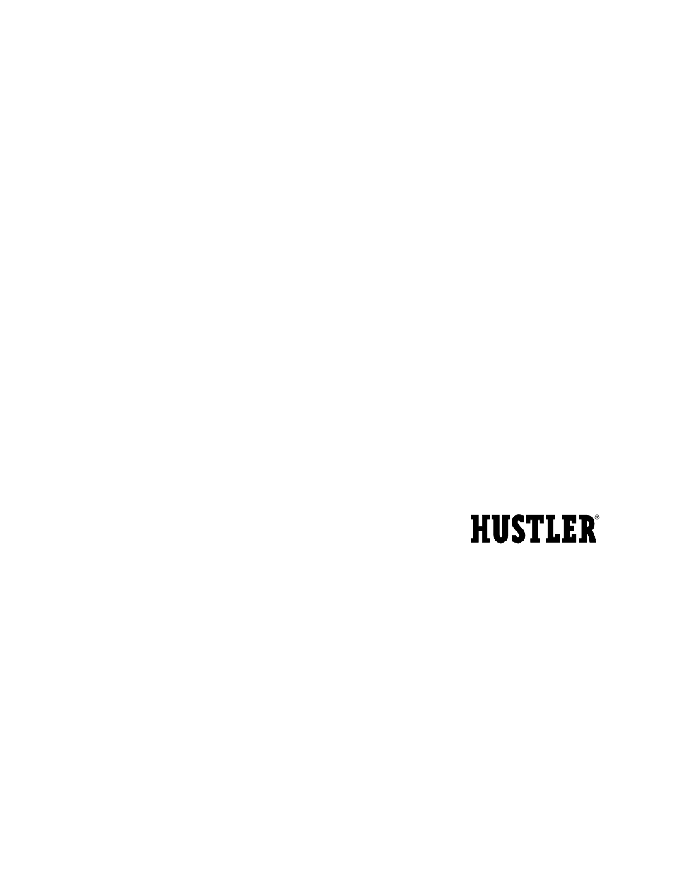 Free owners manual excel hustler 320