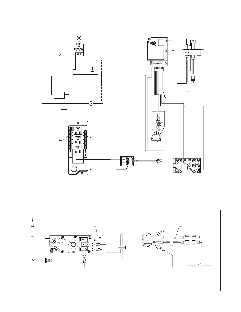 Figure 10  Standing Pilot Ignition Wiring Diagram