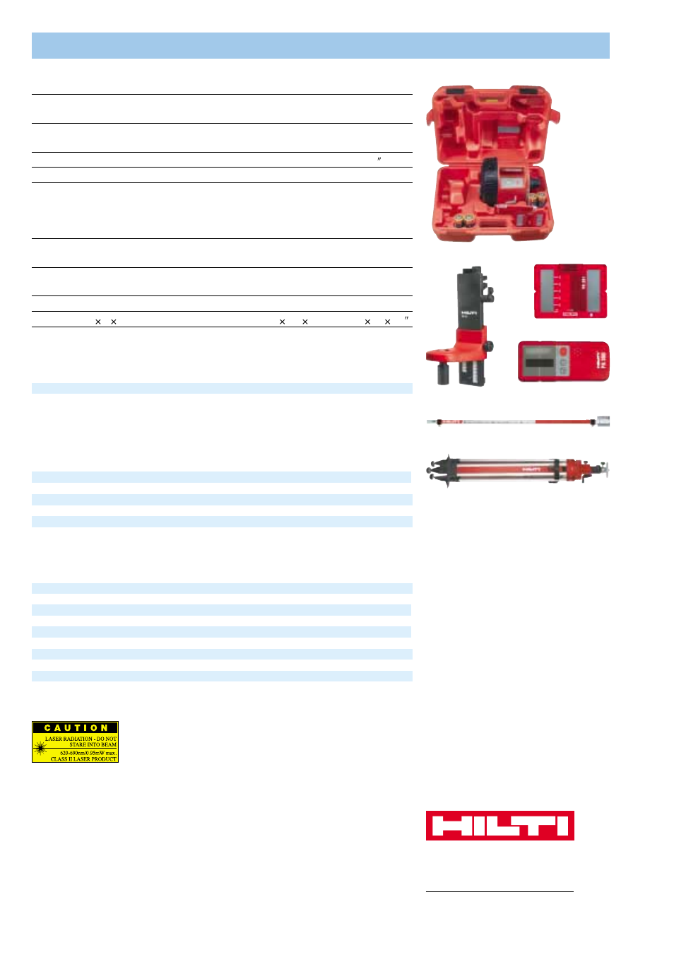 pr 16 rotating laser accessories additional accessories hilti pr rh manualsdir com Pr16 Pressure Switch Oracle SOA Administrator Guide