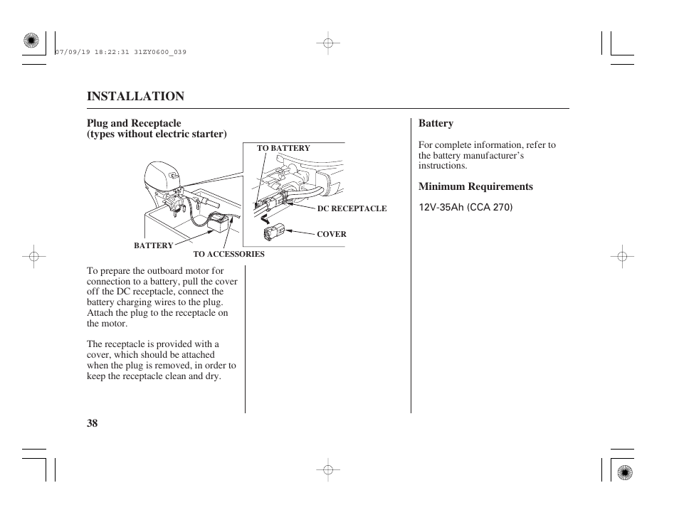 installation honda bf20d user manual page 40 148 original mode rh manualsdir com Honda Manual Transmission Fluid Honda CR-V Owners Manual