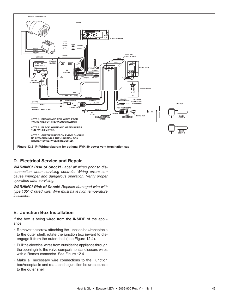 Glo Underfloor Heating Wiring Diagram : Heatilator fireplace wiring diagram gas