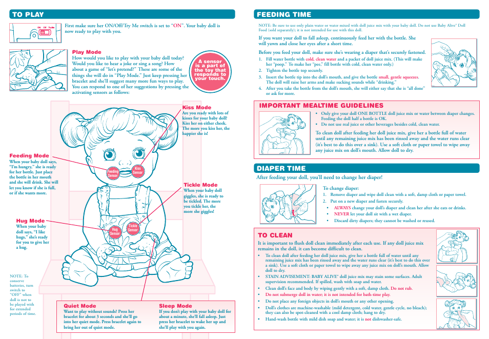 hasbro baby alive 19321 pn 7035000000 user manual page 2 2 rh manualsdir com hasbro icat user manual hasbro super simon user manual