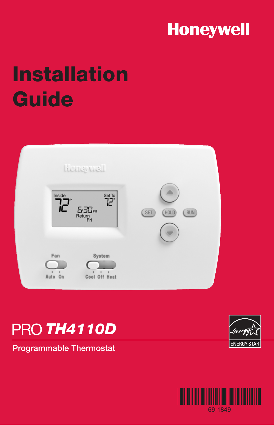 Honeywell thermostat installation guide thermostat manual wiring diagram for honeywell thermostat rth2300b asfbconference2016 Choice Image