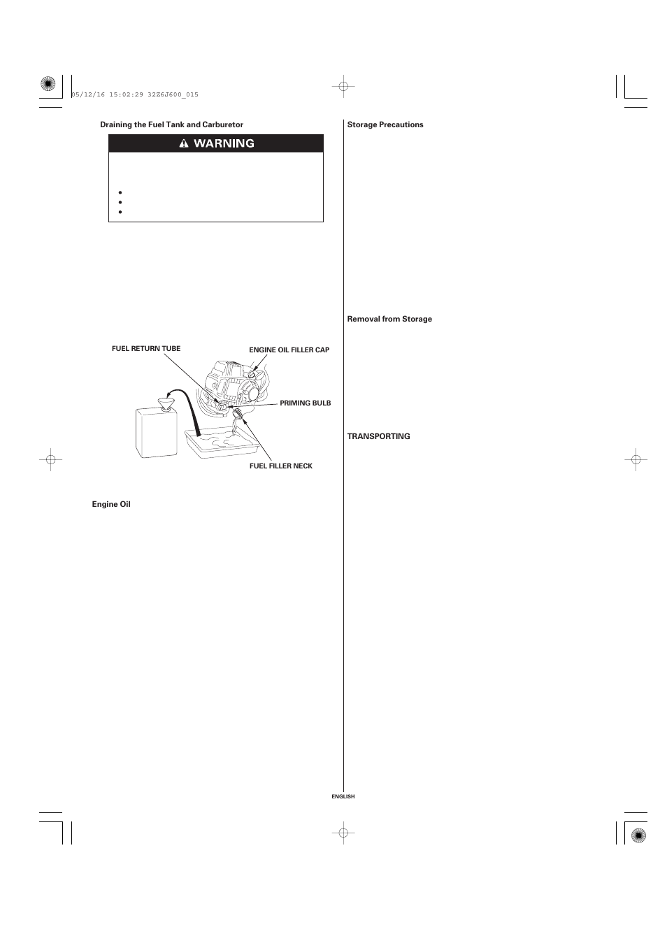 HONDA GX35 User Manual | Page 15 / 20 | Also for: GX25