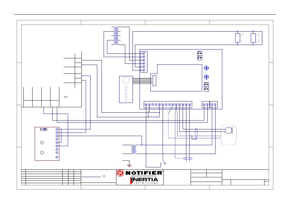 50w Evac Connection Diagram Drg No Honeywell Notifier Ifs 2600 User Manual Page 75 80 Original Mode