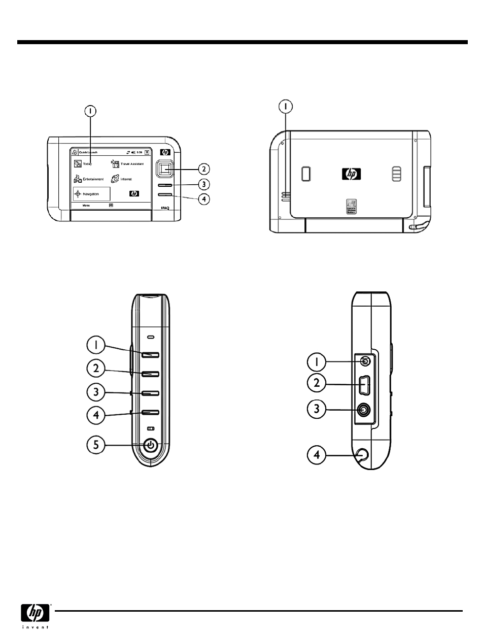 hp ipaq travel companion rx5000 user manual
