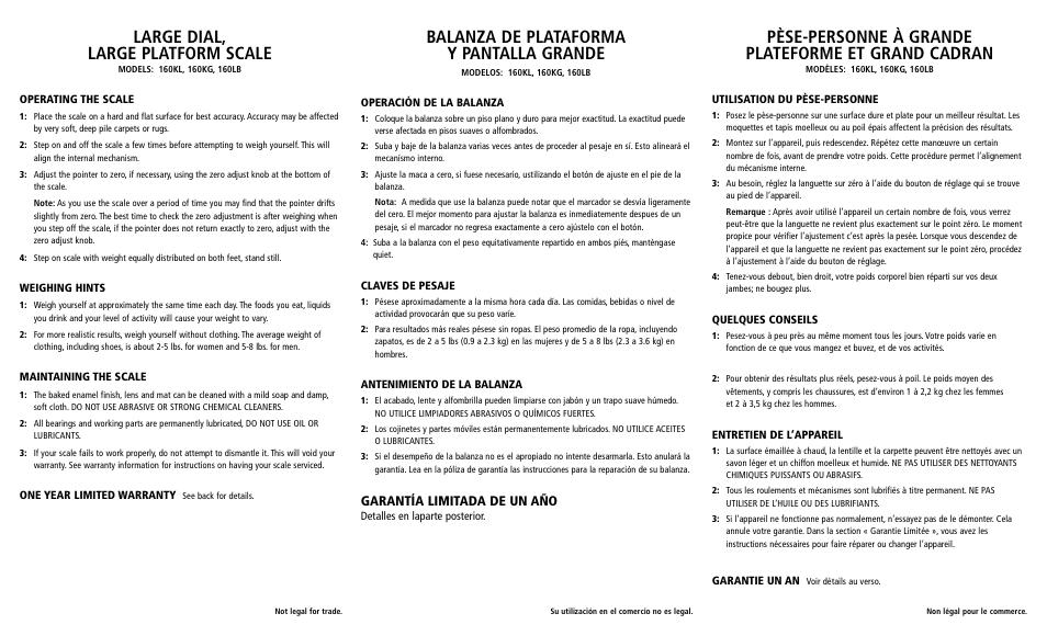 Large Dial Large Platform Scale Balanza De Plataforma Y Pantalla