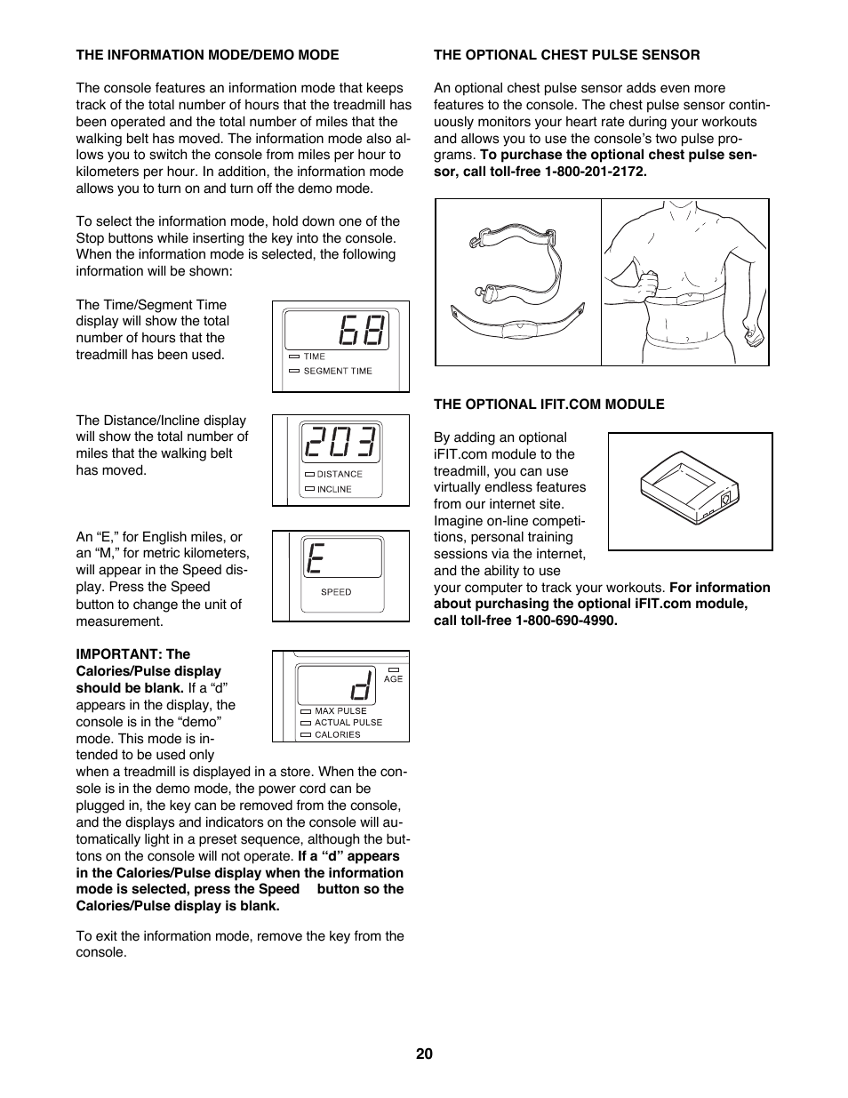 Healthrider S250i HRTL06900 User Manual   Page 20 / 30
