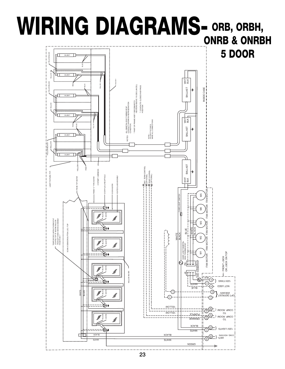 wiring diagrams  orb  orbh  onrb  u0026 onrbh 5 door