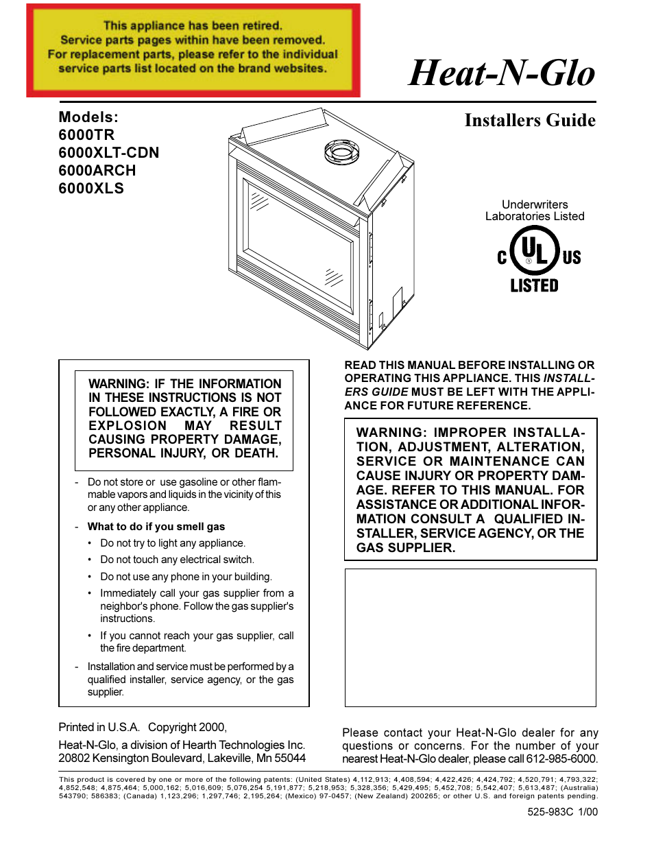 Heat  U0026 Glo Fireplace Heat