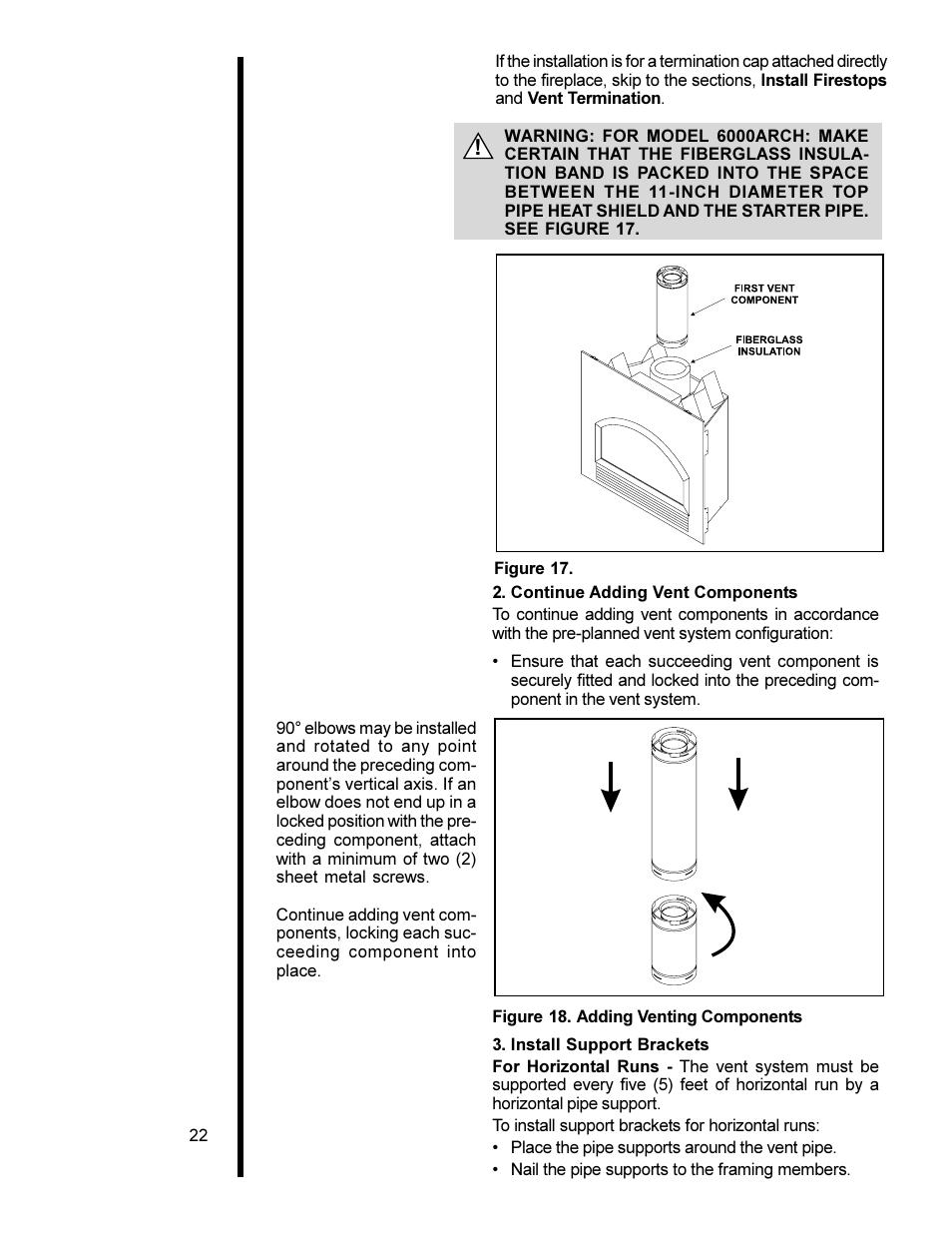 Heat Glo Fireplace Heat N Glo 6000xlt Cdn User Manual Page 22