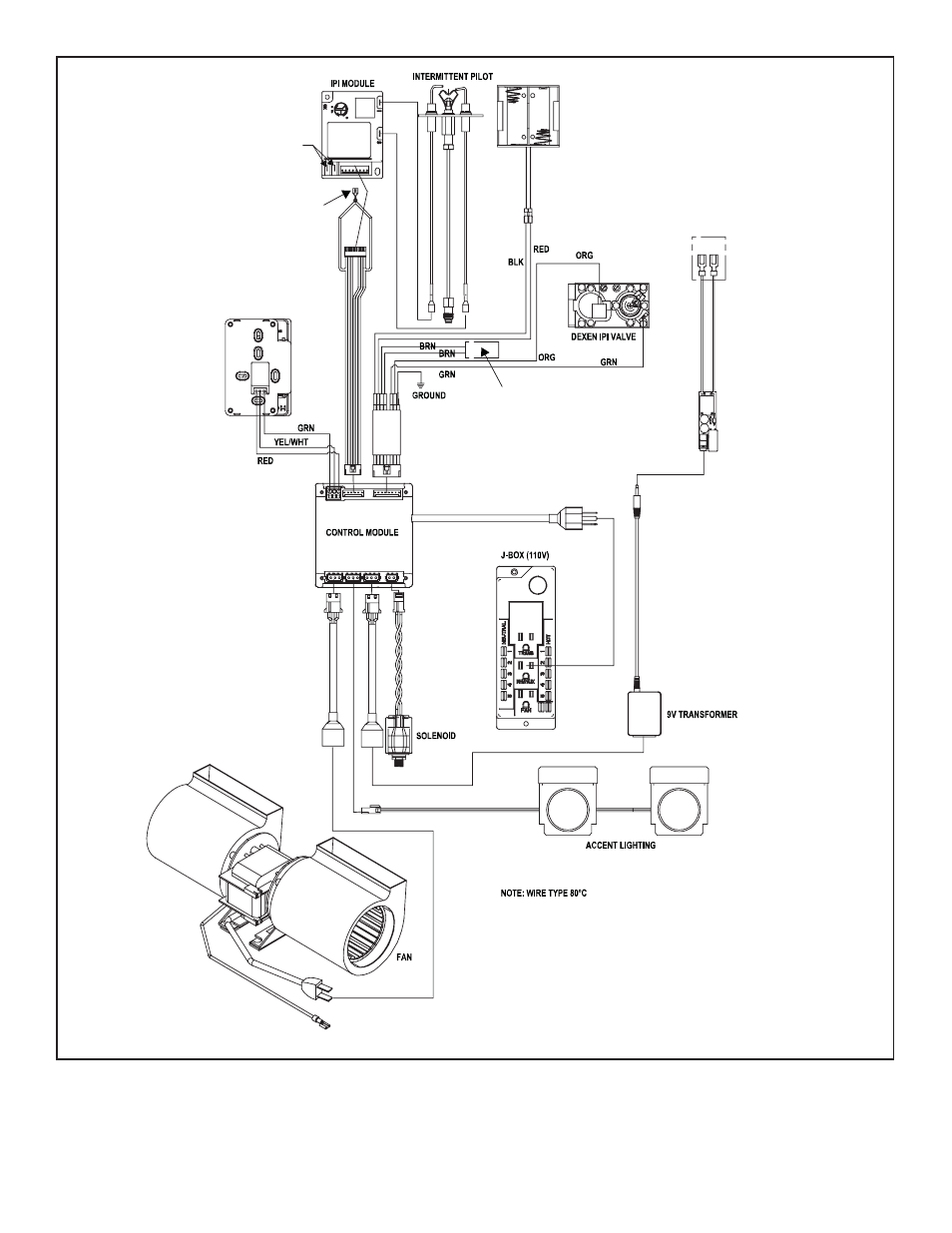 D. electrical service and repair   Heat & Glo Fireplace 6000GLX-IPILP-S/-R  User Manual   Page 48 / 72   Original modeManuals Directory