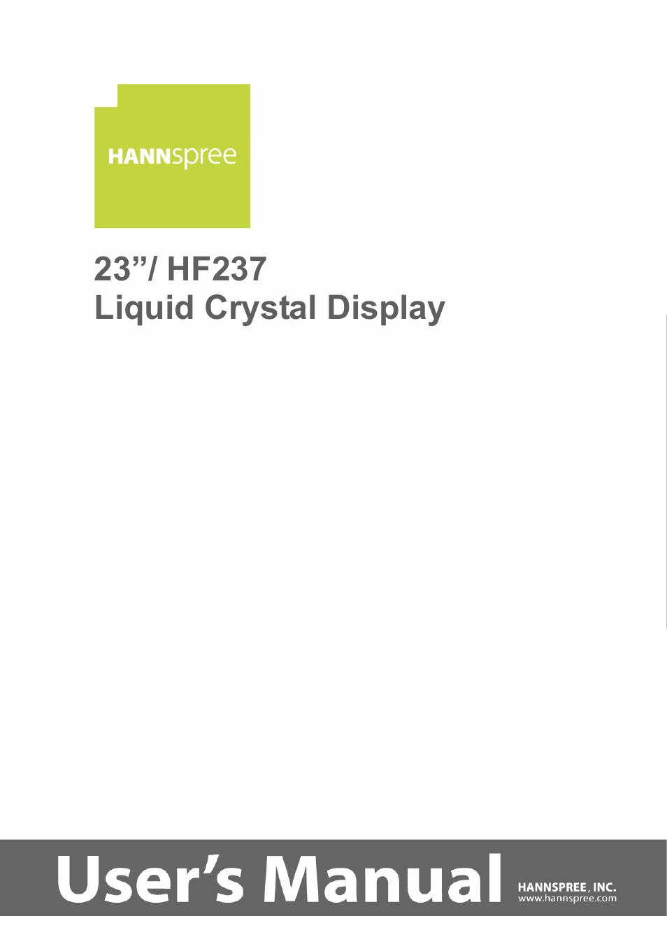 "Amazon. Com: 25"" hannspree hsg1064 hdmi 1080p widescreen lcd."