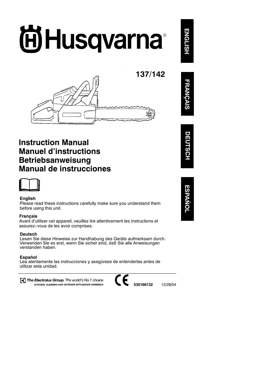 husqvarna 137 user manual 16 pages rh manualsdir com husqvarna 137 manual pdf husqvarna 137 service manual
