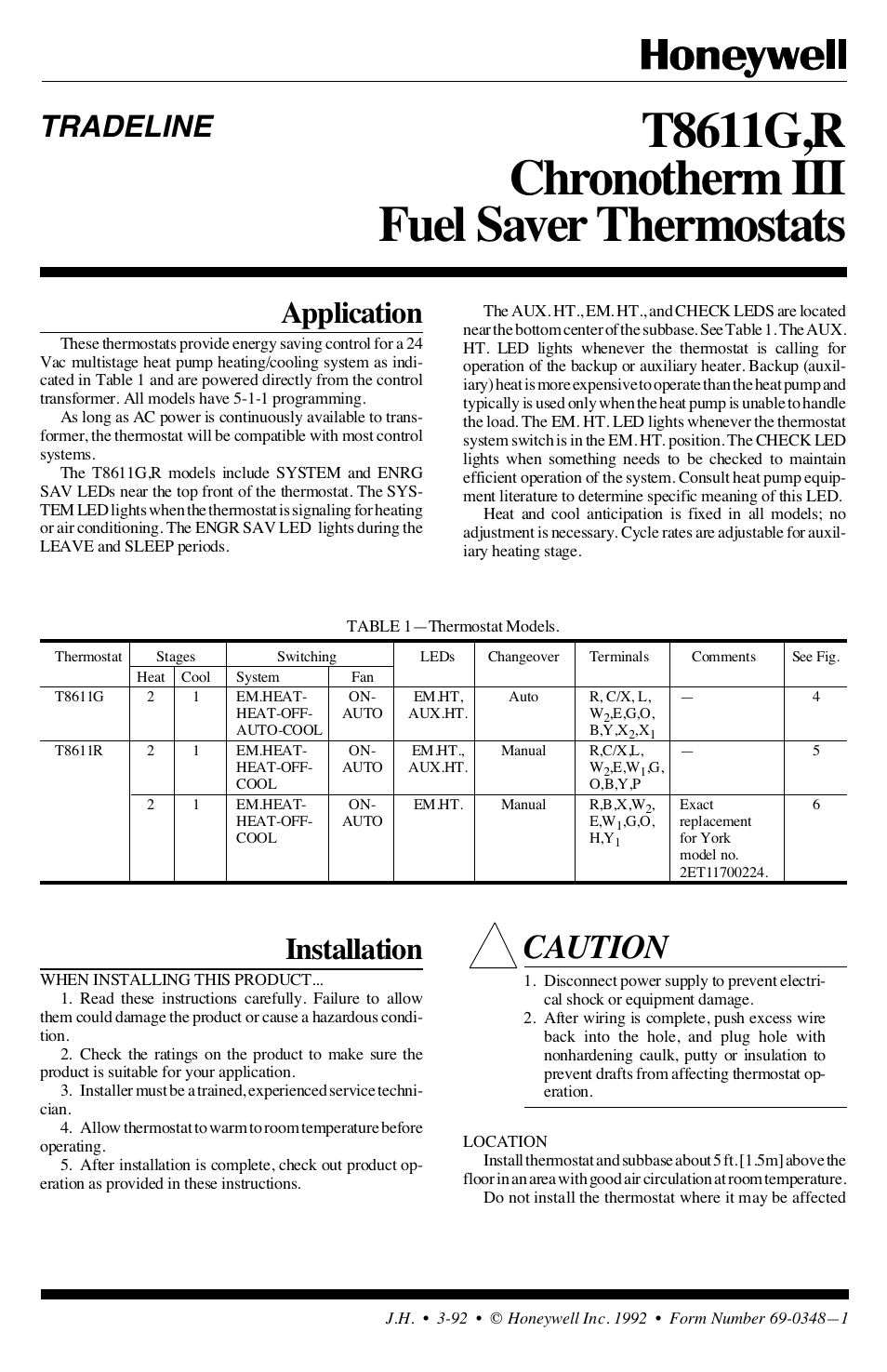 honeywell chronotherm iii t8611g user manual 8 pages honeywell chronotherm iii honeywell chronotherm compatible? nest