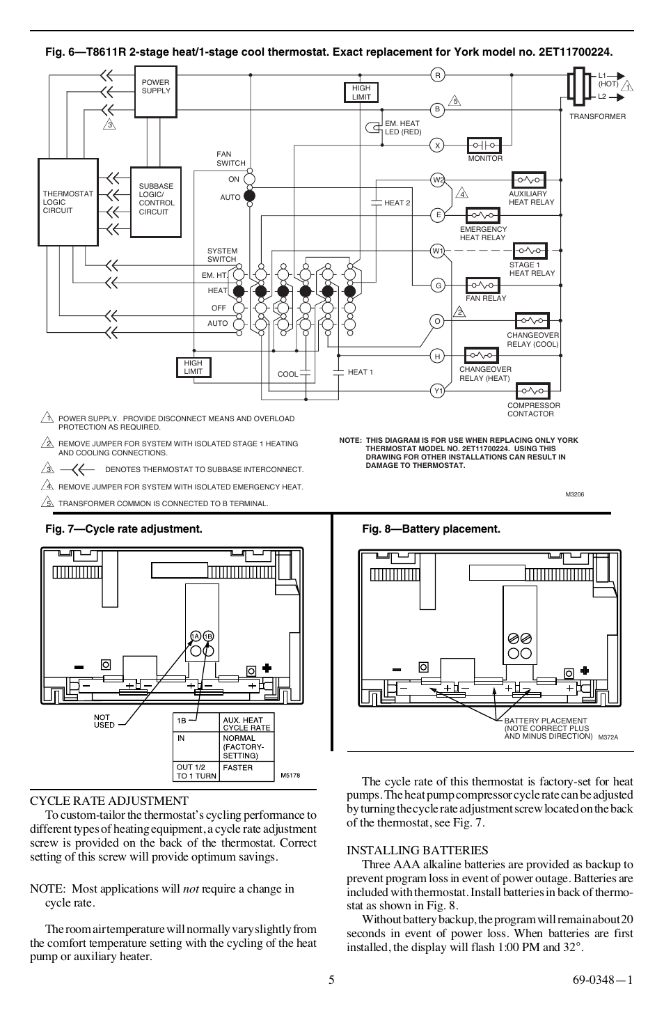 Honeywell T8611g Wiring Diagram