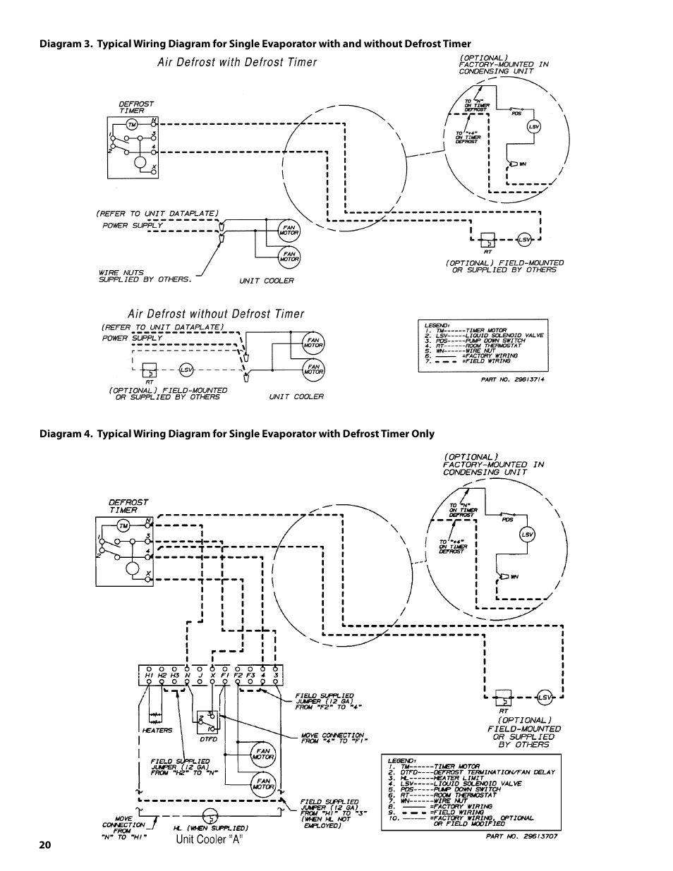 heatcraft refrigeration products condensing units h im cu user Electrical Box Wiring Diagram freezer evaporator coil wiring diagram