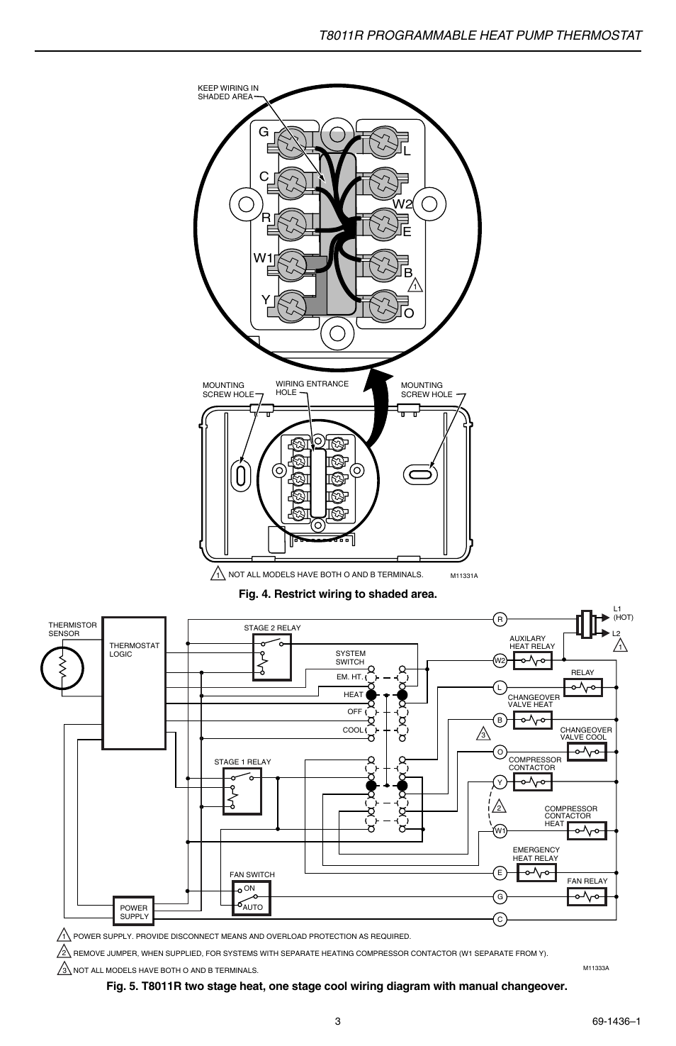 honeywell t8011r wiring diagram   31 wiring diagram images