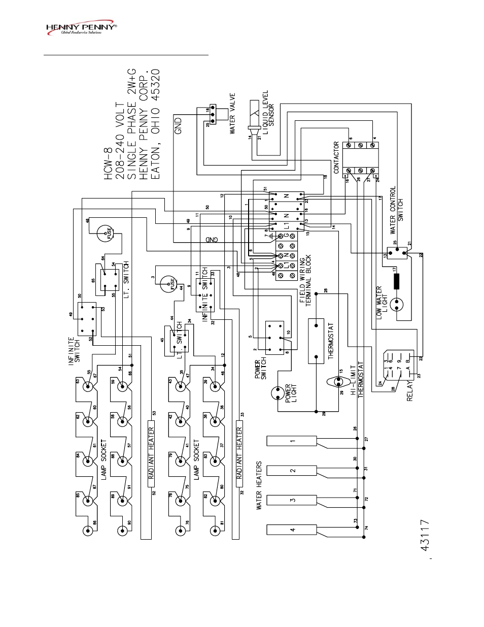 Henny Penny Wiring Diagram Free Download Fenwal Ignition Module 35 655921 001 Hcs 2 User Manual Page 39 59 Also For Hcw