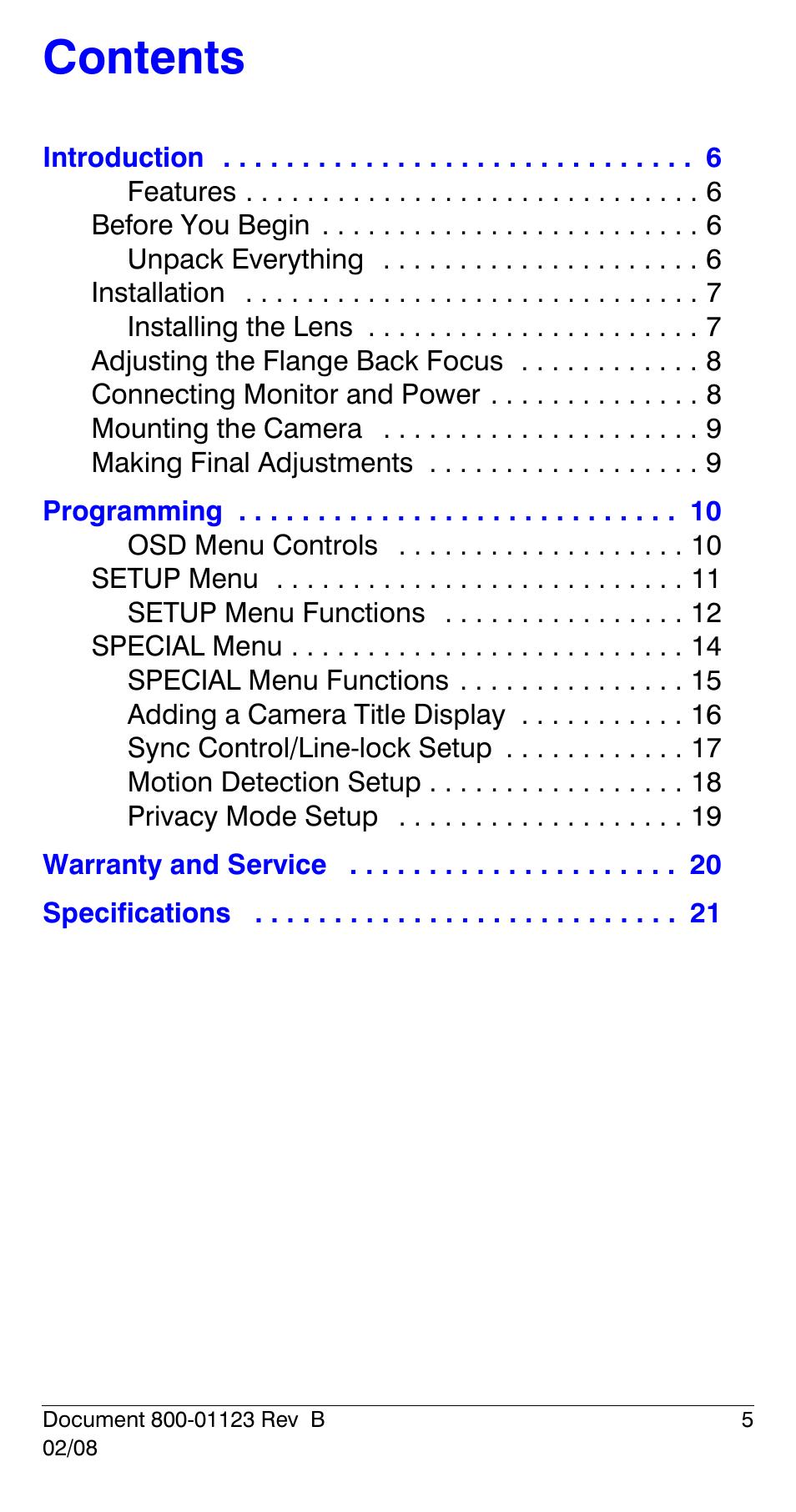 Honeywell HCS544 User Manual | Page 5 / 24