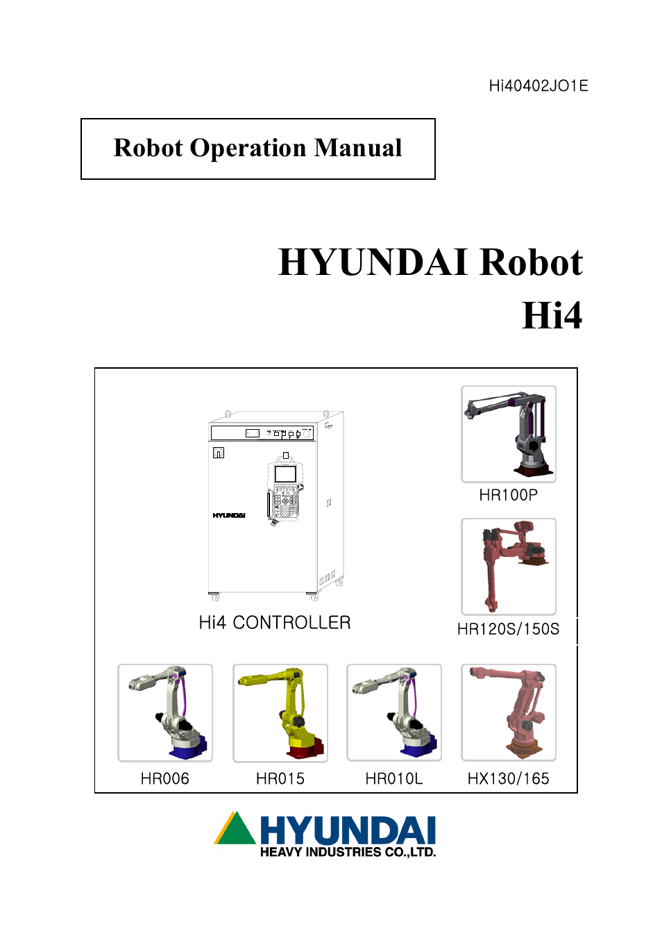 Hyundai HI4 User Manual | 427 pages | Original mode