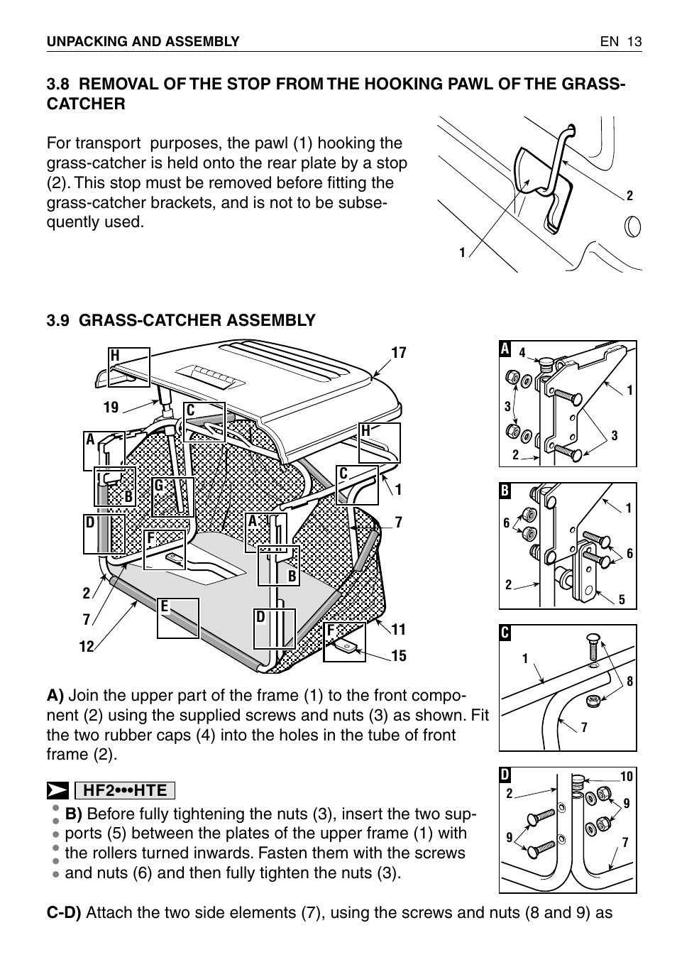honda hf2315sbe user manual page 14   65 also for hf2315hme  hf2415sbe  hf2417hme Honda CR-Z Honda Civic HF