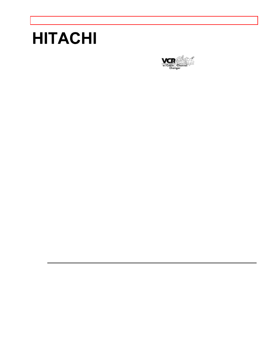 hitachi vt ux605a user manual 83 pages rh manualsdir com User Guide Template Kindle Fire User Guide