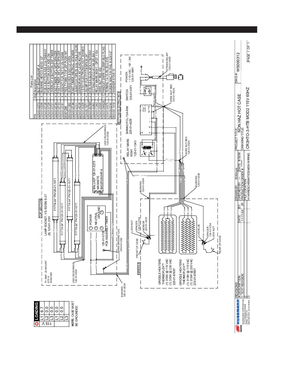 Hussman Wiring Diagrams Schematic Traulsen Ur48wt Hussmann Diy Enthusiasts U2022 Mustang Harness Diagram