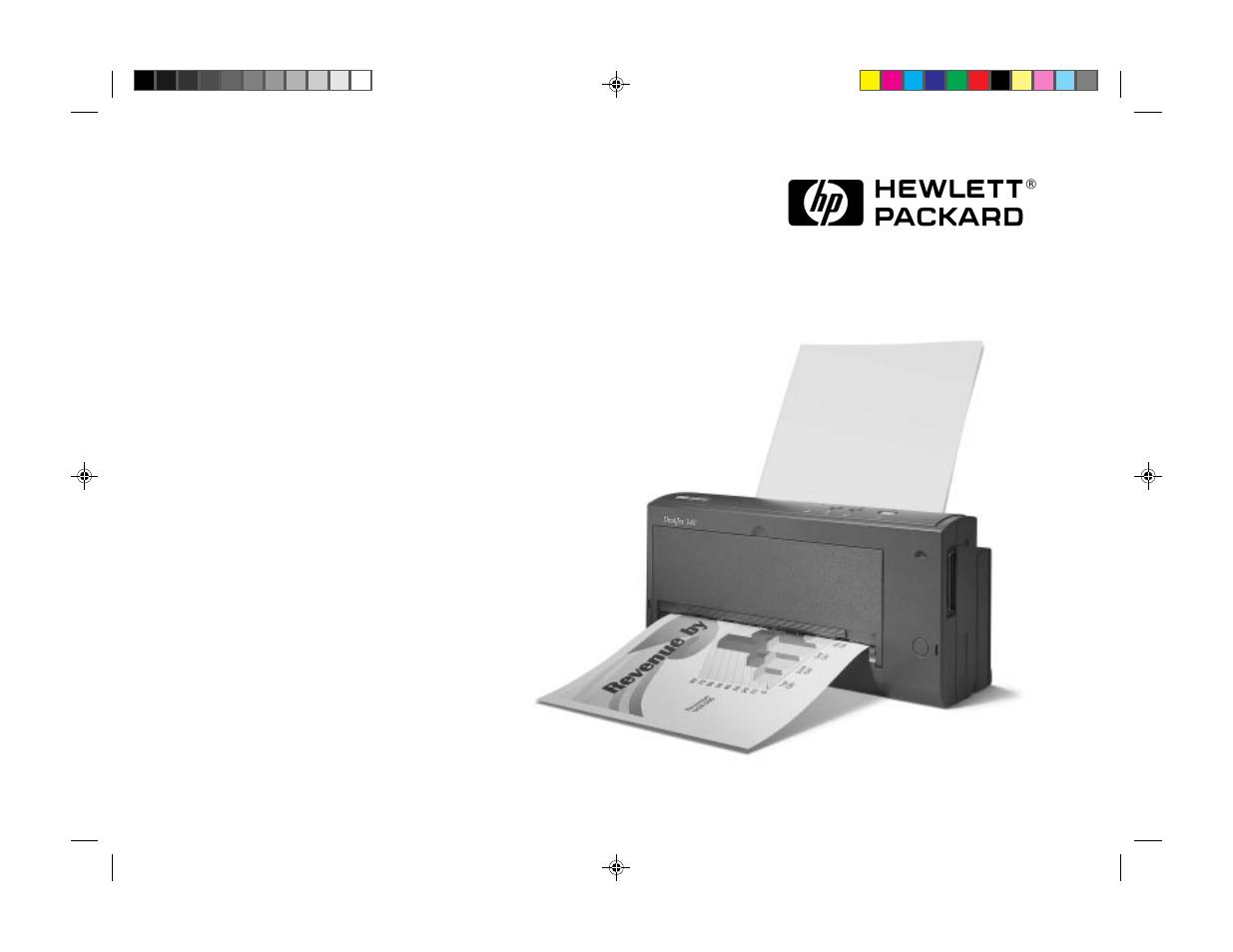 Hp 340 User Manual 20 Pages Also For Deskjet 340