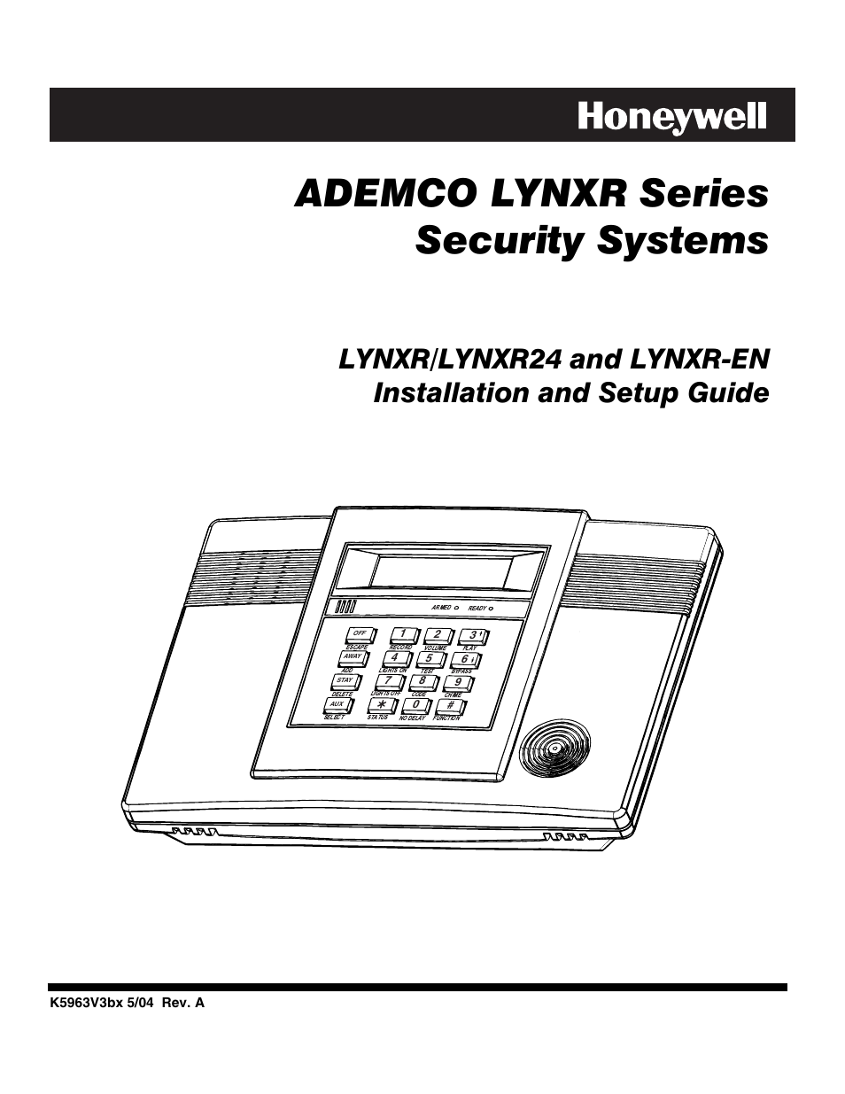 honeywell ademco lynxr en user manual 72 pages also for ademco rh manualsdir com honeywell lynxr installation manual honeywell lynx manual pdf