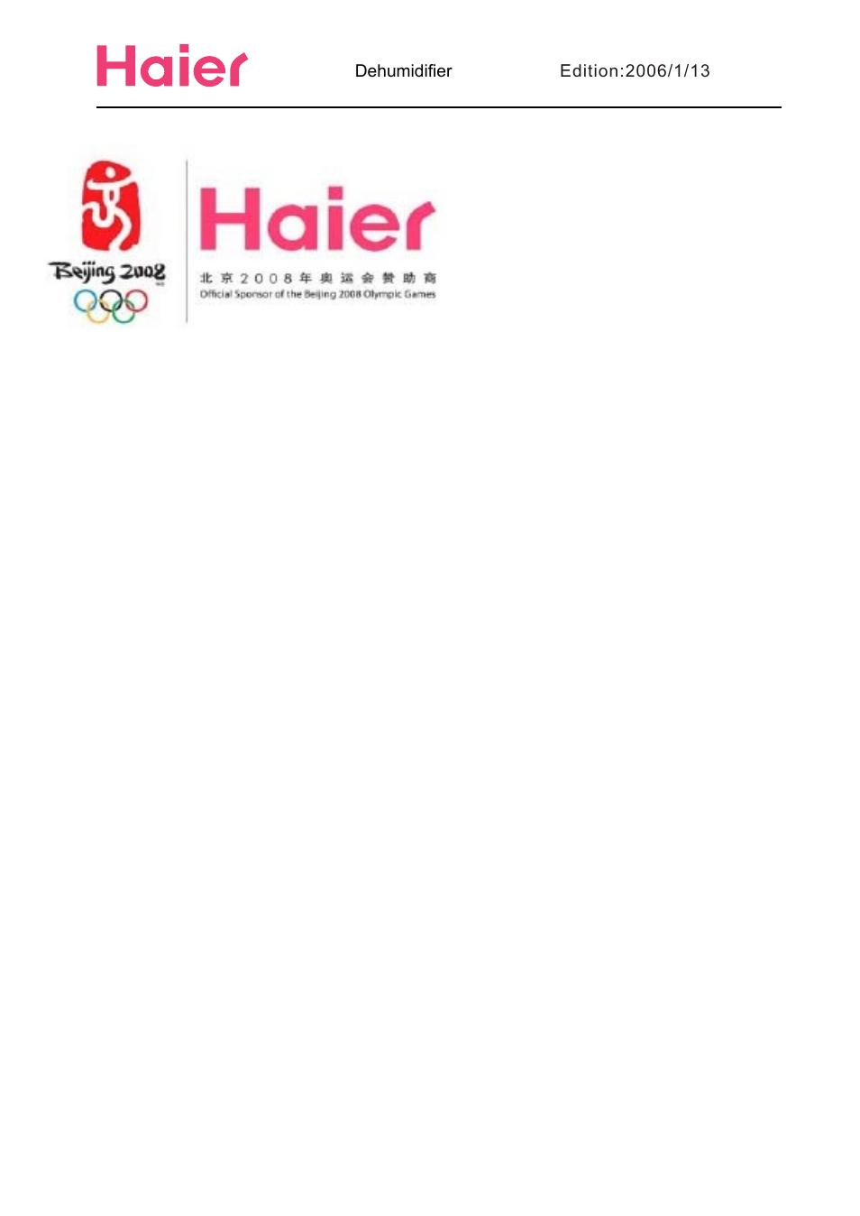 haier hd456 user manual 18 pages also for hd656 hd456e hd306 rh manualsdir com Haier Dehumidifier Walmart Haier DE65EK 45 Pint Dehumidifier