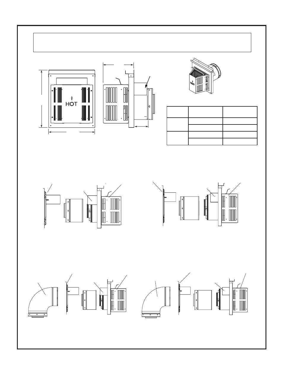 B  Vent Components Diagrams  Continued