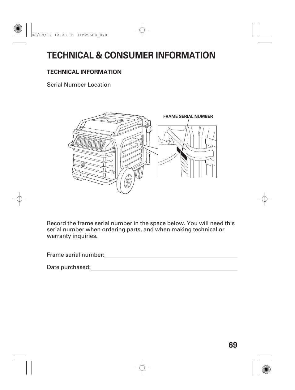 Honda Eu6500is Parts Diagram Electrical Wiring Diagrams Of All Years An Generator Carburetor Technical Consumer Information Serial Em5000sx