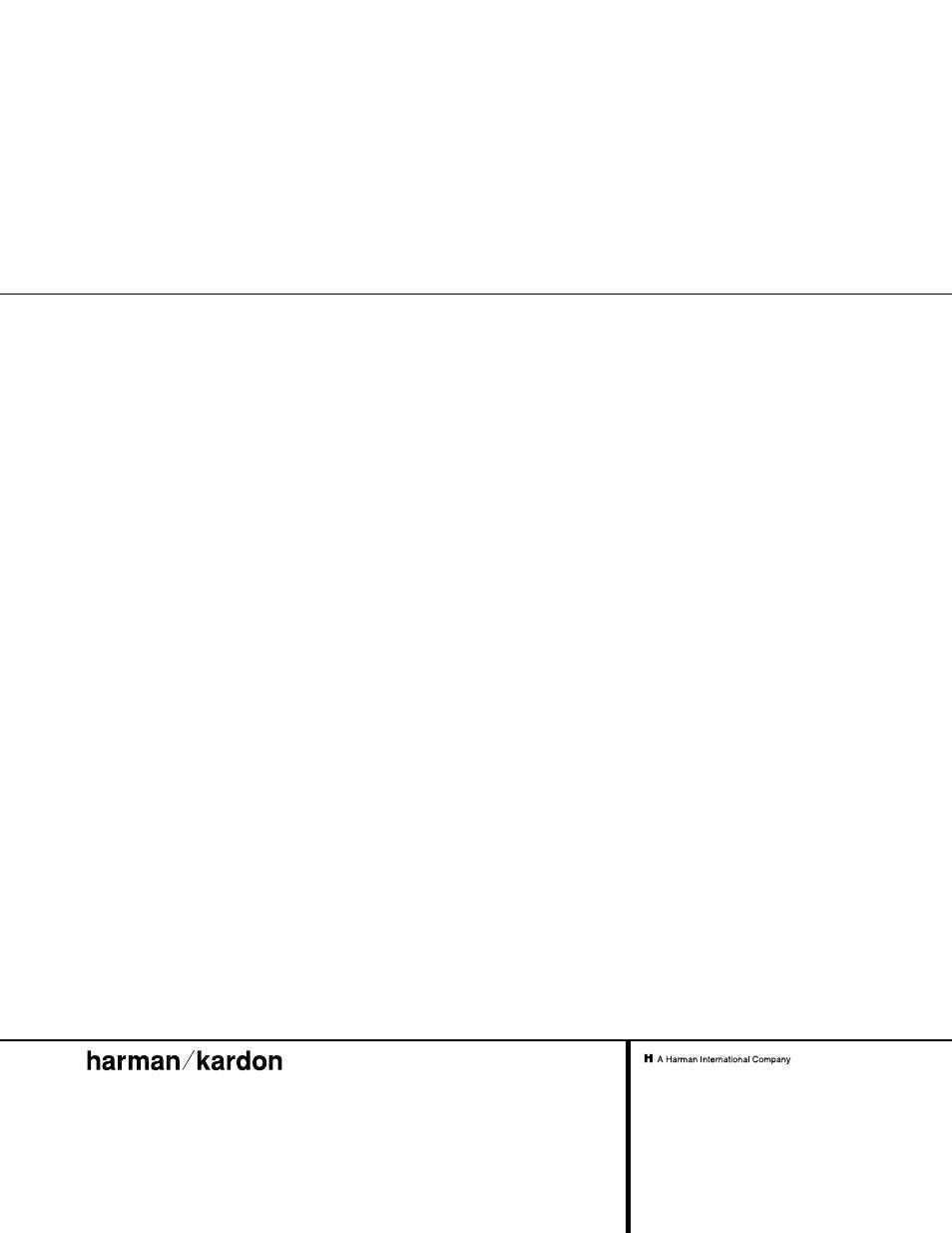 harman kardon avr 500 user manual 40 pages rh manualsdir com Harman Kardon AVR 347 Harman Kardon AVR 2700
