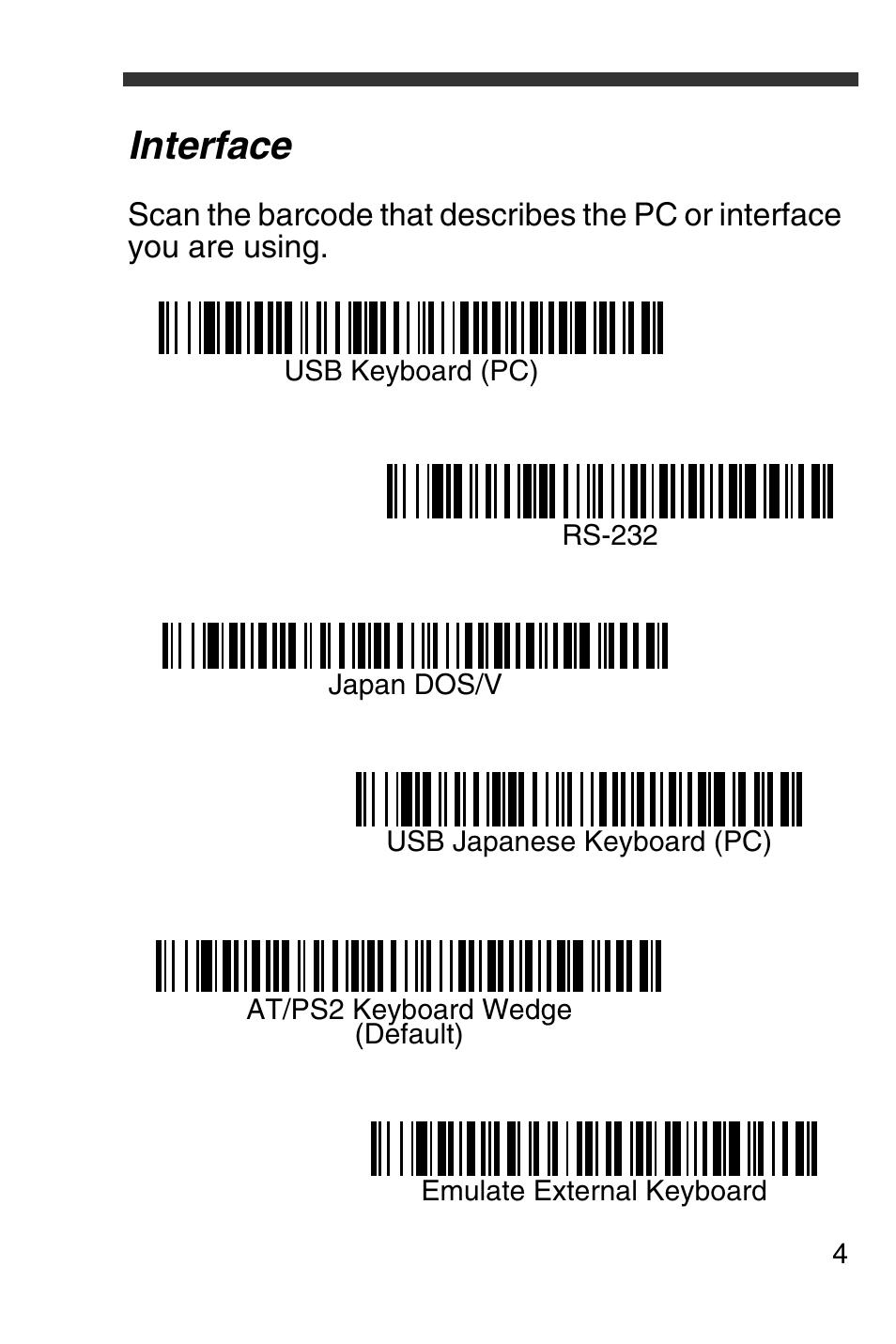 interface honeywell 4600g user manual page 5 20 rh manualsdir com Honeywell 4600G with Base honeywell barcode scanner 4600g manual