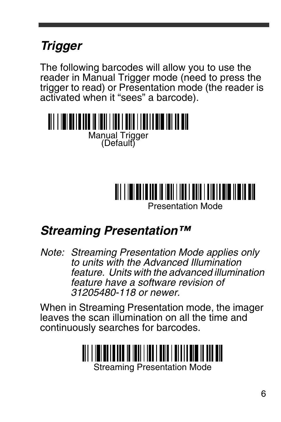 trigger streaming presentation honeywell 4600g user manual page rh manualsdir com Honeywell IT4600 Driver honeywell barcode scanner 4600g manual