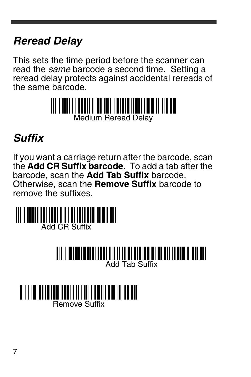 reread delay suffix honeywell 4600g user manual page 8 20 rh manualsdir com 4600G Honeywell Model Number Honeywell IT4600 Driver