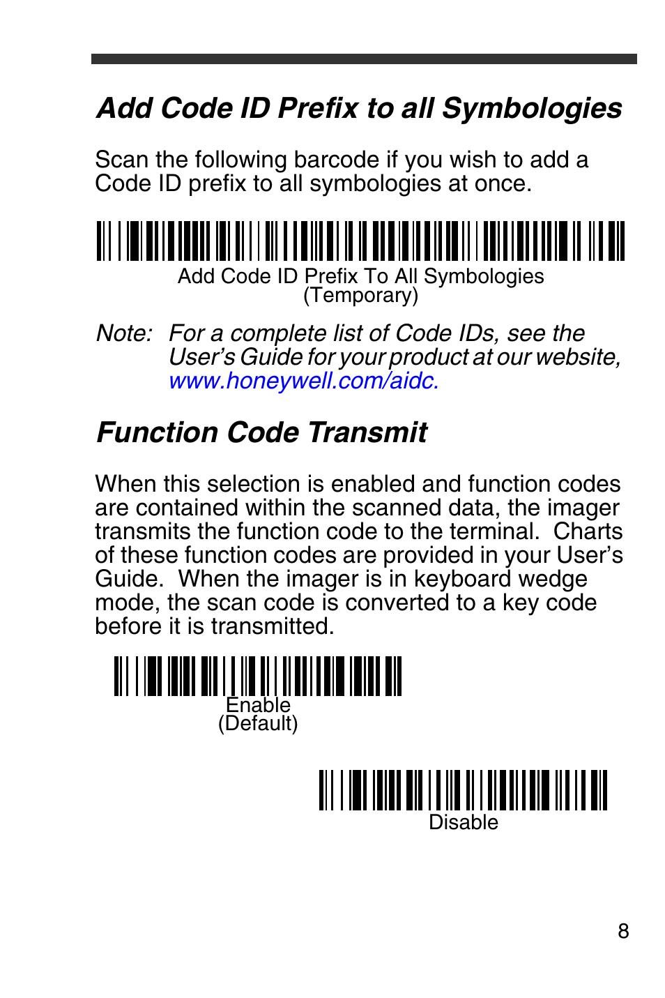 Honeywell 4600g scanner manual