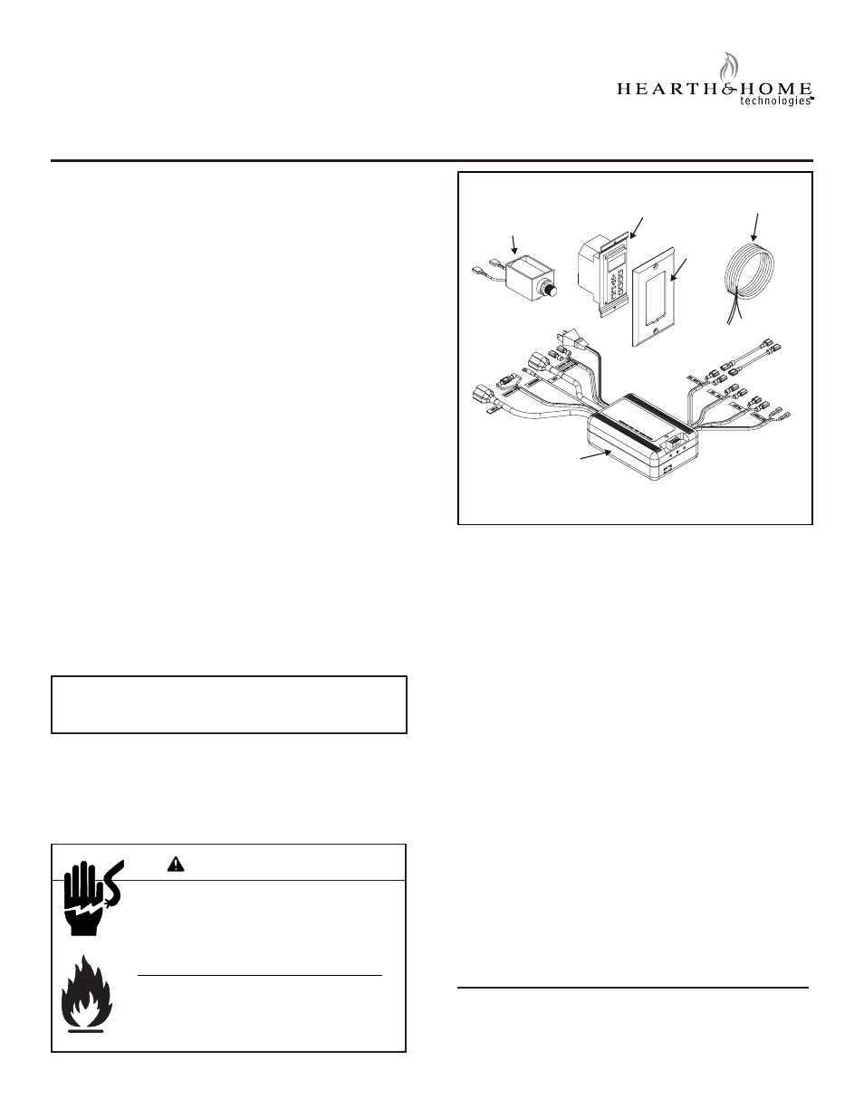 Hearth And Home Technologies Wsk Mlt User Manual 7 Pages