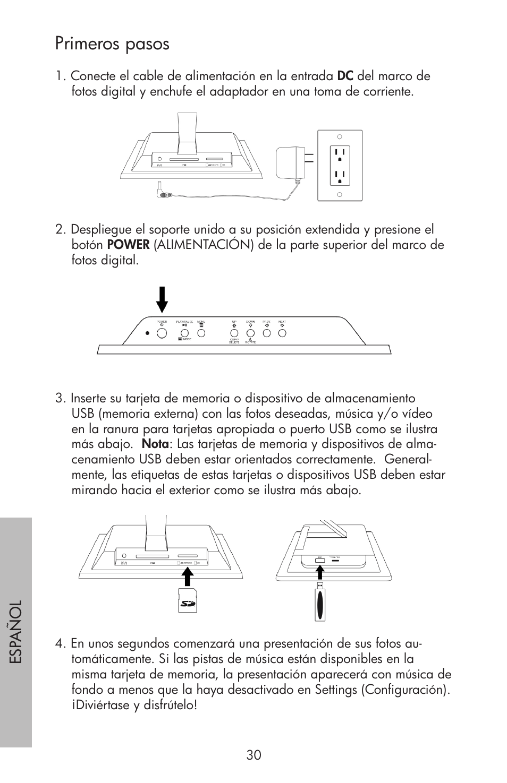 Primeros pasos | HP df750 Series User Manual | Page 32 / 46