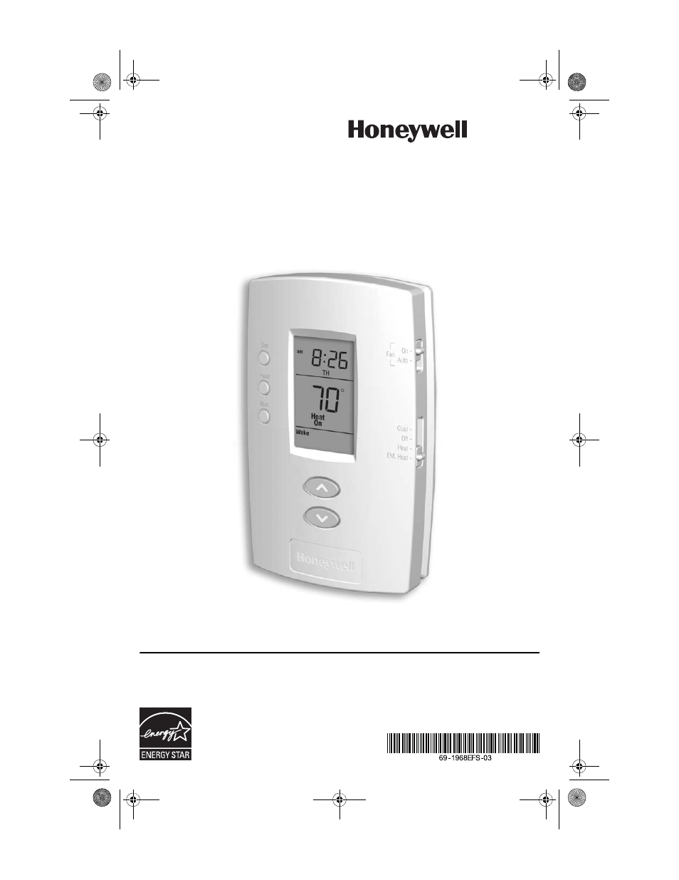 Honeywell Thermostat Pro 3000 Installation Guide Manual Guide