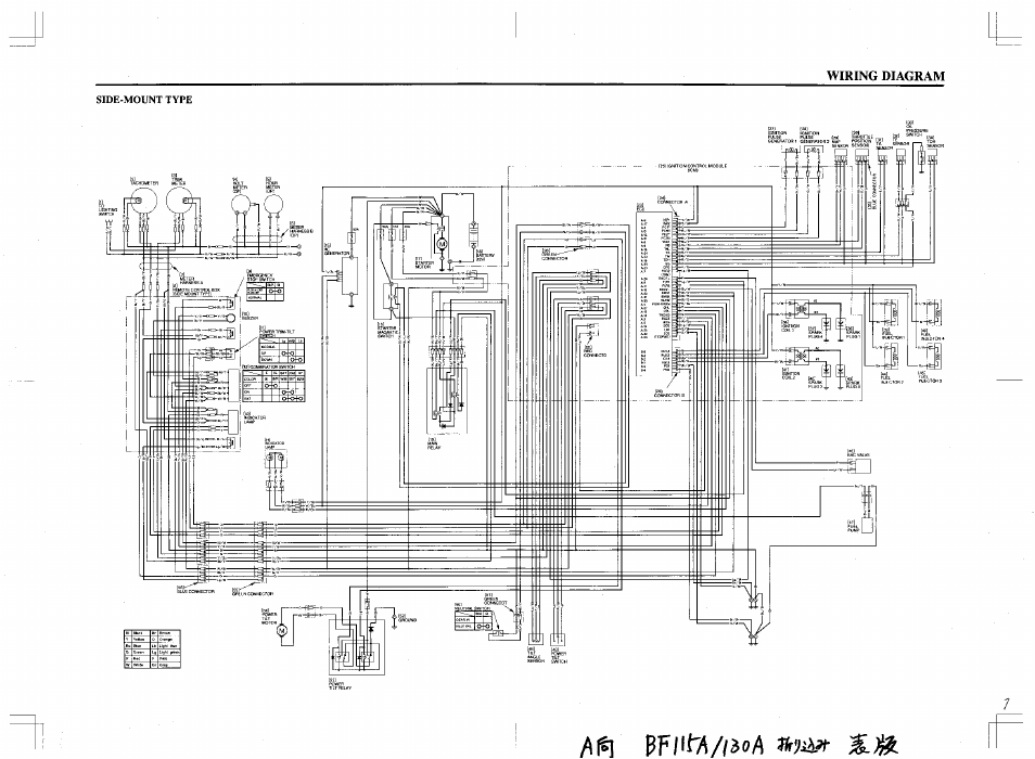 Yamaha Outboard Engine Wiring Diagram Manual Guide