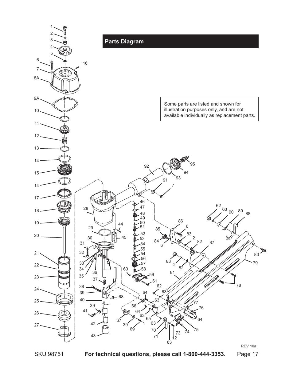 Assembly Diagram  Parts Diagram