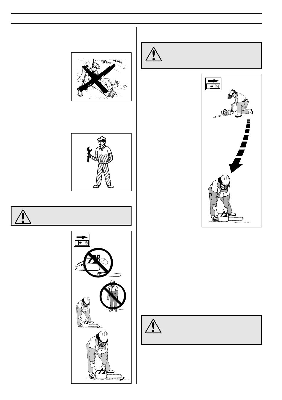 Safety instructions, General safety precautions, Min. 3 m (10 ft) | Husqvarna  61 User Manual | Page 18 / 41