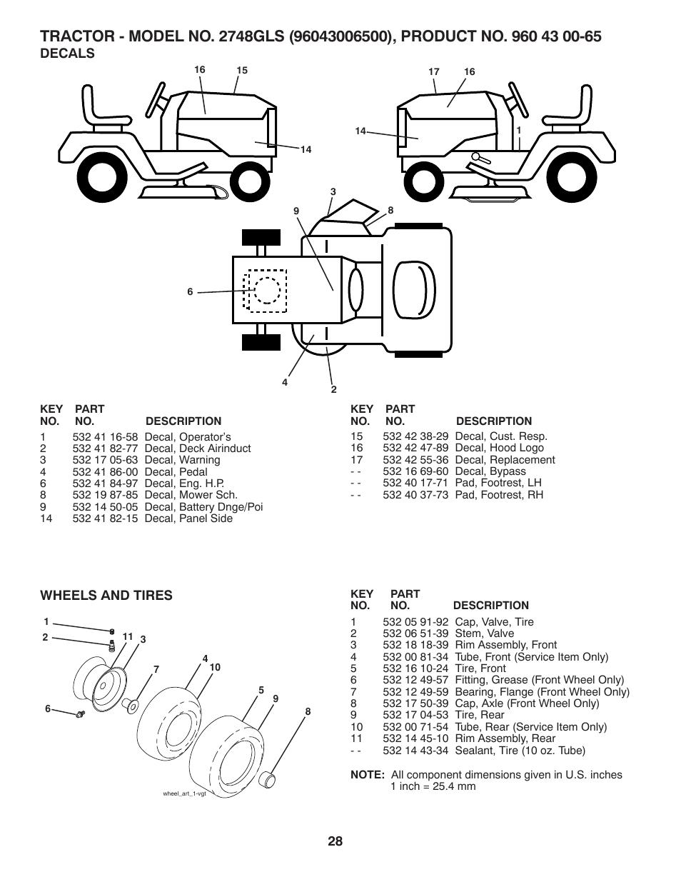 husqvarna royal 50se operator u0027s manual Array - repair parts decals  wheels u0026 tires husqvarna 2748 gls user rh manualsdir com
