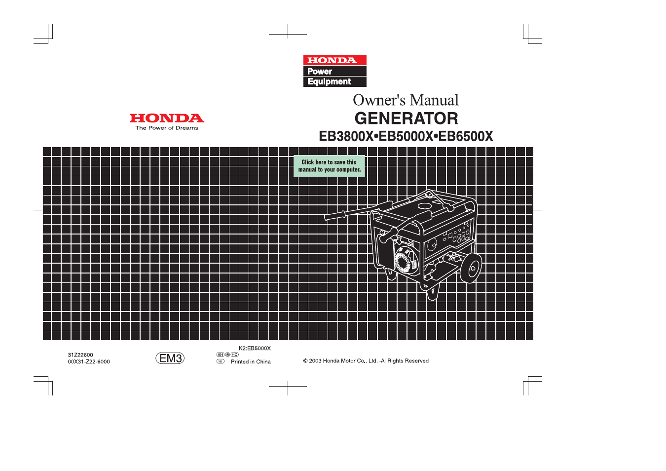 Honda Em5000s Generator Wiring Diagram For Eb5000 The Portal And Forum Of Images Gallery