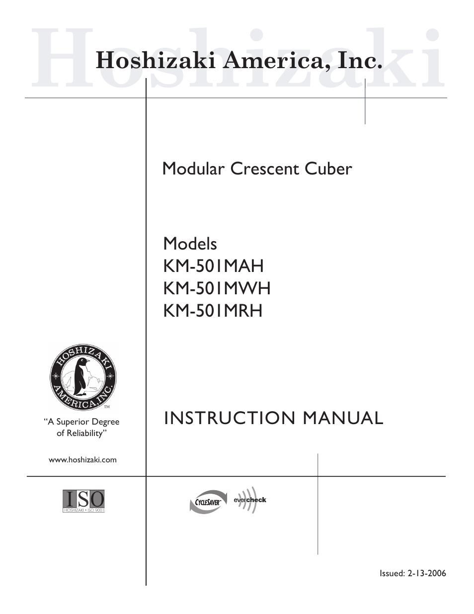 hoshizaki km 501mrh user manual 27 pages also for km 501mwh rh manualsdir com hoshizaki service manual hoshizaki ice machine owner's manual