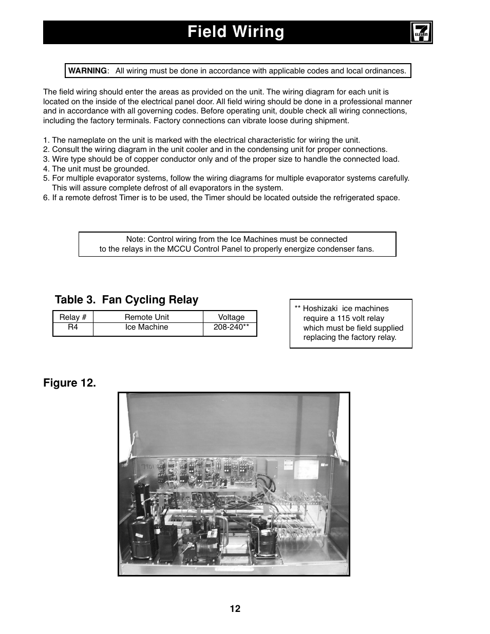 heatcraft refrigeration wiring diagrams all wiring diagram hvac contactor wiring heatcraft refrigeration wiring diagrams wiring diagram online trane furnace wiring diagram field wiring, figure 12