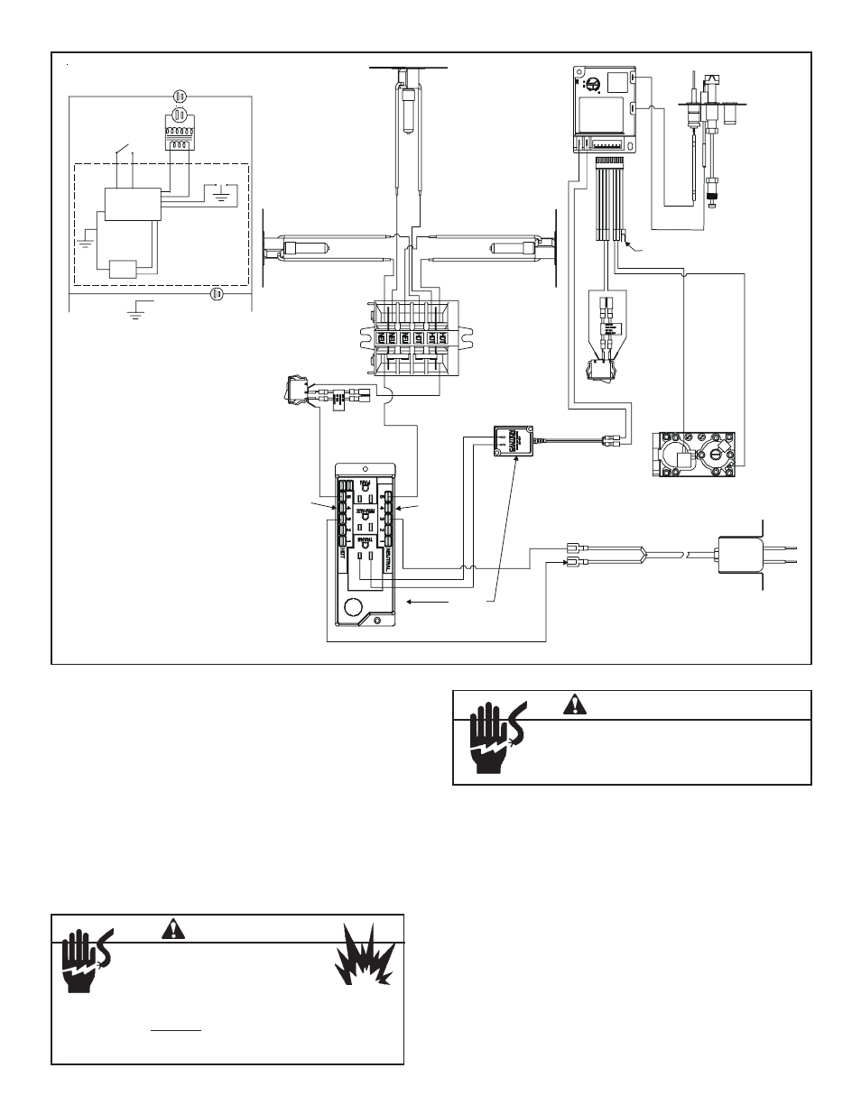 skytech gas fireplace. skytech sky 5301 backlit lcd touch ... fireplace remote sensor wiring diagram
