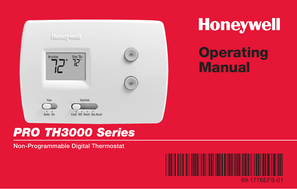 Honeywell t7300 thermostat manual.